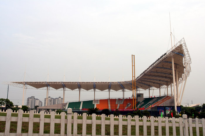 无锡棒球运动训练基地看台
