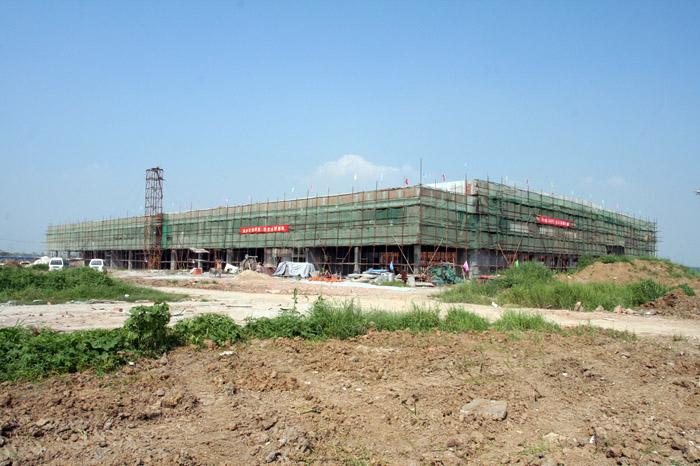 无锡硕放机场货运仓库